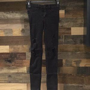 Hollister low rise jean leggings